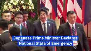 Japanese Prime Minister Declares National State of Emergency [Video]