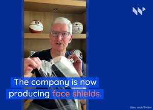 Apple Is Now Building and Shipping Face Shields [Video]
