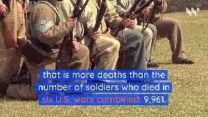 US COVID-19 Death Toll Surpasses 10,000 [Video]