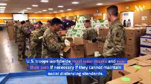 Pentagon Orders Troops to Wear Masks [Video]