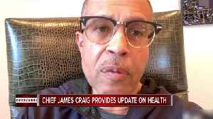Detroit Police Chief James Craig provides update on health after battle with coronavirus [Video]