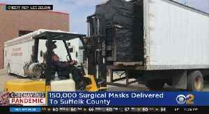 150,000 Surgical Masks Delivered To Suffolk County [Video]