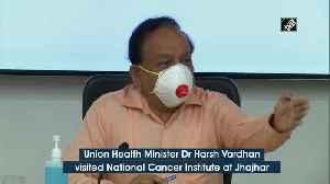 Health Minister Harsh Vardhan visits Jhajjar Hospital dedicated for coronavirus [Video]