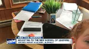Buffalo's Sacred Heart Academy adjusting to new normal of learning [Video]