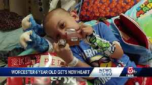 After 4 years of waiting, 6-year-old boy gets new heart [Video]
