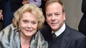 Kiefer Sutherland's actress mum dead at 86 [Video]