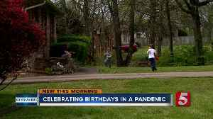 Fire, police department show up for 5-year-old Hendersonville boy's birthday after party canceled [Video]