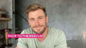 Chris Hemsworth will calm kids with guided meditations [Video]