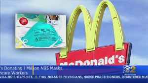 McDonald's Donating 1 Million N95 Respirator Masks To First Responders, Health Care Workers [Video]