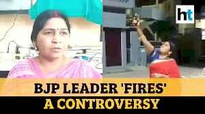 Watch: BJP leader seen firing in the air during PM Modi's 'light a diya' call [Video]