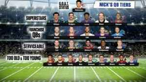 NIck Wright ranks top quarterbacks in the NFL, lists Mahomes, Brees & Aaron Rodgers [Video]