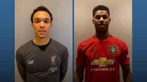 Alexander-Arnold and Rashford urge fans to stay healthy at home during Covid-19 pandemic