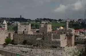 Jerusalem's Via Dolorosa empty due to coronavirus fears [Video]
