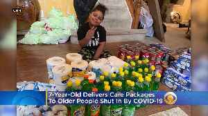 7-Year-Old Maryland Boy Is Delivering Care Packages To The Elderly Shut In By Coronavirus [Video]