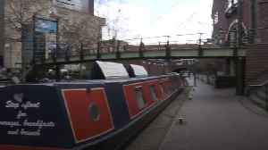 People urged to observe social distancing on canal paths [Video]