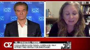 Dr. Oz Asks Pulmonary Expert Dr. Lindsay Lief How Bad The Ventilator Shortage Is In New York. [Video]