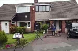 Neighbors take part in 'driveway bingo' [Video]