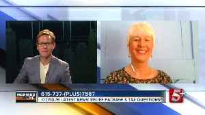 MorningLine: COVID-19 Latest: Relief Package & Tax Questions? P.4 [Video]