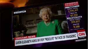 Queen Elizabeth's Speaks Out In Rare Broadcast To Thank Those Helping In The COVID-19 Outbreak [Video]