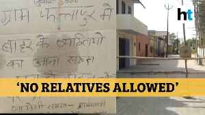 No relatives allowed: How this UP village is penalizing outsiders amid lockdown [Video]