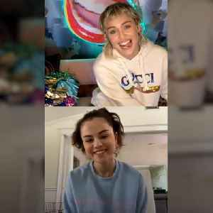 Disney icons Miley Cyrus and Selena Gomez reunite on Instagram Live [Video]