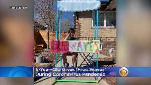 6-Year-Old Denver Boy Gives 'Free Waves' During Coronavirus Pandemic [Video]