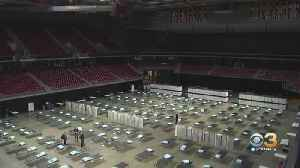 Liacouras Center Transforms Into Field Hospital For Non-COVID-19 Patients [Video]