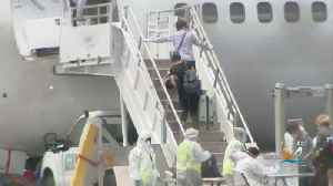 Healthy Coral Princess Passengers Board Charter Flights Home [Video]