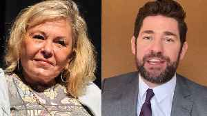 Roseanne Barr Says COVID-19 a Ploy to Kill Baby Boomers, John Krasinski Spreads More 'Good News' & More | THR News [Video]