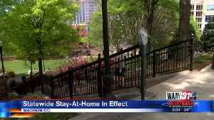 Stay At Home Order In Effect [Video]
