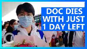 Coronavirus: Doctor Dies One Day Before Seeing Her Family [Video]