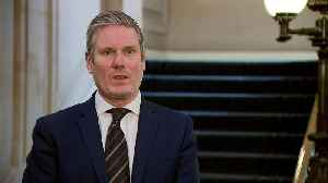 Starmer: Labour will 'act constructively' with government