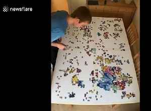 UK student under lockdown shows 43-hour operation behind jigsaw puzzle [Video]