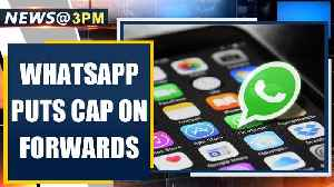 Amid rising fake news on COVID-19, Whatsapp  limits forwards to 1 chat | Oneindia News [Video]