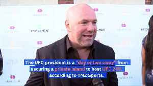 Dana White Says He Will Host UFC Fights on a 'Private Island' [Video]