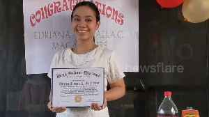 Mum organises graduation ceremony for daughter after schools closed in the Philippines due to coronavirus [Video]