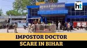 Covid-19: Scare at Gaya hospital as alleged fake doctors enter special ward [Video]