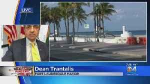 WEB EXTRA: Fort Lauderdale Mayor On Closing Beaches To Stop Coronavirus Spread [Video]