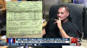 Bakersfield gym owner forced to close door by Bakersfield Police and Kern County Public Health [Video]