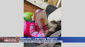 DPS Students Head Back To School For Remote Learning [Video]
