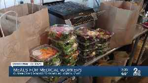 Meals for medical workers, Charmington's donates to front line hospital staff [Video]