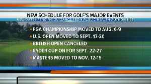 Major changes to golf's schedule; Ryder Cup still on as-scheduled [Video]