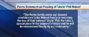 Uncle Phil Maloof dies from COVID-19 [Video]