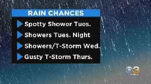Philadelphia Weather: Rain Chance Returns [Video]