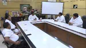 COVID-19 Jharkhand CM Hemant Soren holds meeting with ministers in Ranchi [Video]