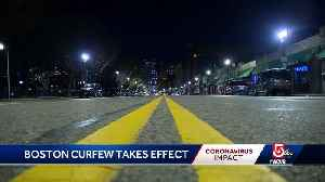 Overnight curfew in effect in Boston [Video]