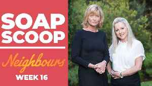 Neighbours Soap Scoop! Claudia and Sam team up [Video]
