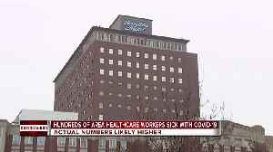 Hundreds of metro Detroit healthcare workers sick with COVID-19 [Video]
