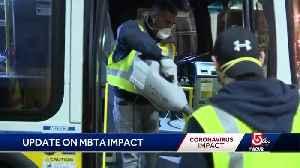 Number of coronavirus cases among MBTA staff rising [Video]