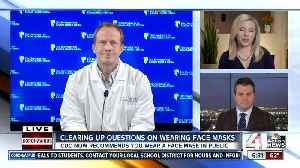 Clearing up questions on wearing face masks [Video]